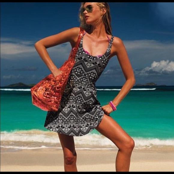 PINK Victoria's Secret Dresses & Skirts - Victoria's Secret PINK Tribal Skater Dress SMALL